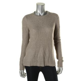 Lauren Ralph Lauren Womens Pullover Sweater Knit Elbow Patches