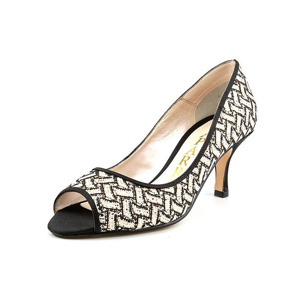 Caparros Womens Buffy Peep Toe Classic Pumps