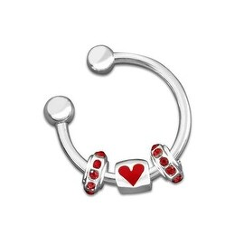 Heart Charm Key Chain for Causes