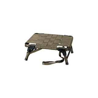 Hunters specialties 06820 hs strut seat deluxe two-way collapsible 2 webbing od grn