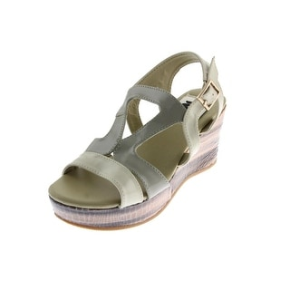 A Line Girls Patent Sandals