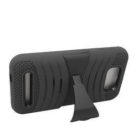 Insten Wave Symbiosis Dual Layer Hybrid Stand Rubber Silicone/ PC Case Cover For BLU Studio 5.5