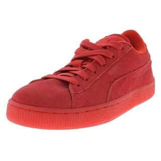 Puma Boys Puma Suede Iced Athletic Shoes Low Top Fashion