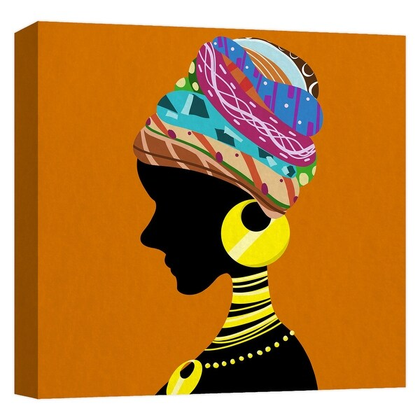 """PTM Images 9-124777 PTM Canvas Collection 12"""" x 12"""" - """"Culture"""" Giclee Women Art Print on Canvas"""