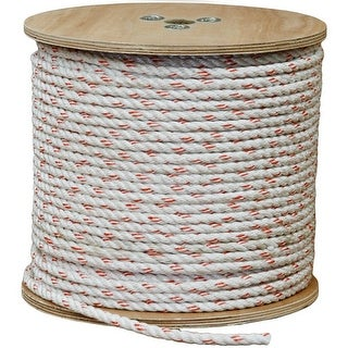 """Outfitters Supply Rope Poly Plus Strands 7/16"""" x 600' Tan"""