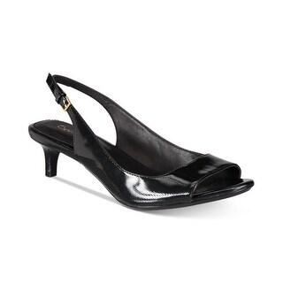 Calvin Klein Womens Garena Open Toe Casual Slingback Sandals