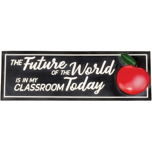Spoontiques 19763 teacher desk sign