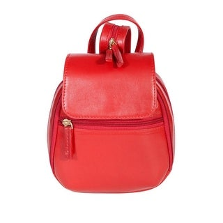 Scully Western Backpack Womens Mini Leather Magnetic Snap Closure 722