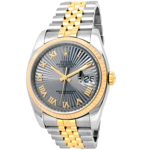 Pre-owned 36mm Two-Tone Datejust Watch