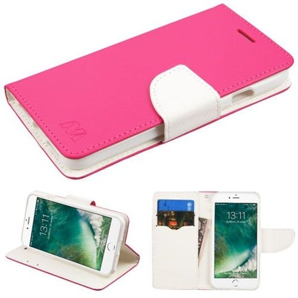 Insten Leather Case Cover with Stand/ Wallet Flap Pouch For Apple iPhone 7