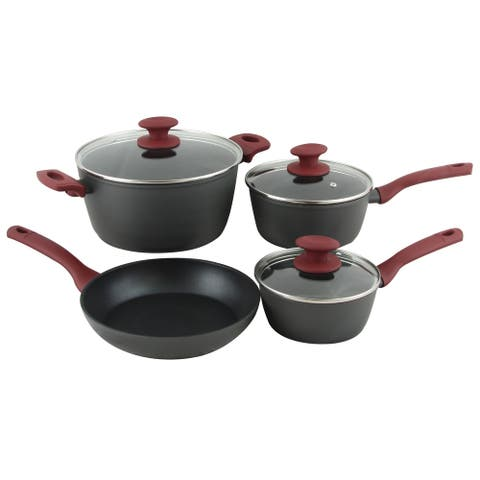 Gibson Home Marengo 7 piece Forged Aluminum Nonstick