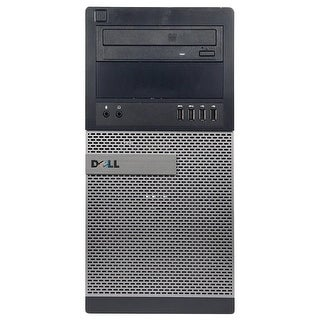 Dell OptiPlex 9010 Computer Tower Intel Core I5 3470 3.2G 16GB DDR3 1TB Windows 7 Pro 1 Year Warranty (Refurbished) - Black