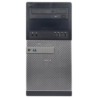 Dell OptiPlex 9010 Computer Tower Intel Core I7 3770 3.4G 16GB DDR3 1TB Windows 10 Pro 1 Year Warranty (Refurbished) - Black