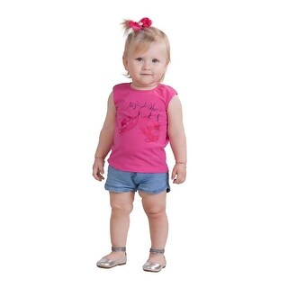 Pulla Bulla Baby Girl Tee Infant Graphic Tank Top