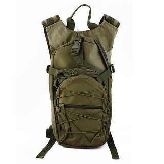 Hiking Camping Climbing Cycling Backpack Hydration Bladder Pack Army Green