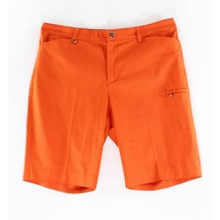 Lauren Ralph Lauren NEW Orange Women's Size 10 Bermuda Walking Shorts|https://ak1.ostkcdn.com/images/products/is/images/direct/f7e22f845cf617bf52e4a00d25250640e9d27add/Lauren-Ralph-Lauren-NEW-Orange-Women%27s-Size-10-Bermuda-Walking-Shorts.jpg?impolicy=medium