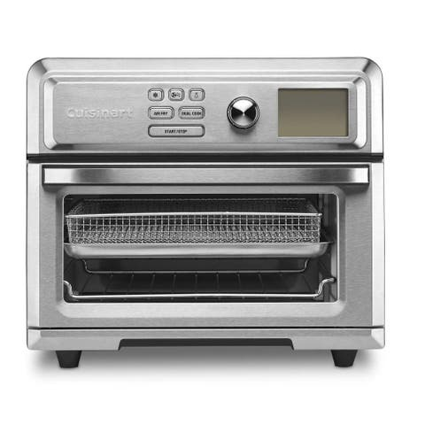 Cuisinart Digital TOA-65 AirFryer Toaster Oven (Silver)