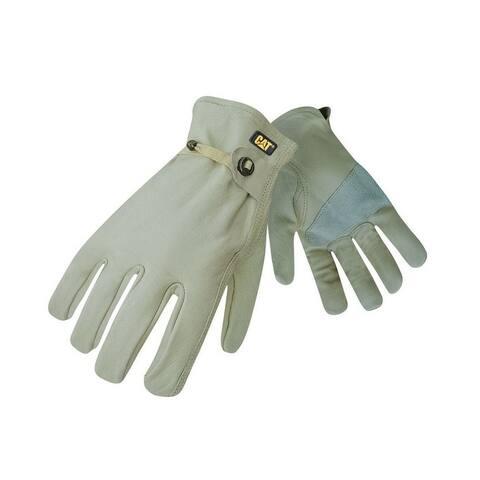 Cat CAT012110L Men's Unlined Leather Driver Glove, Large