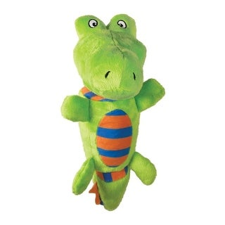 Kong Stretchezz Tugga Alligator Dog Toy Small