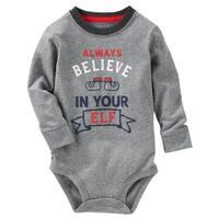 OshKosh B'gosh Baby Boys' Believe Bodysuit, 6 Months