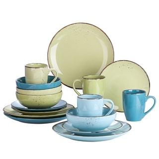 Link to vancasso, Series Navia, 16-Piece Multi-color Ceramic Dinnerware Set Similar Items in Dinnerware
