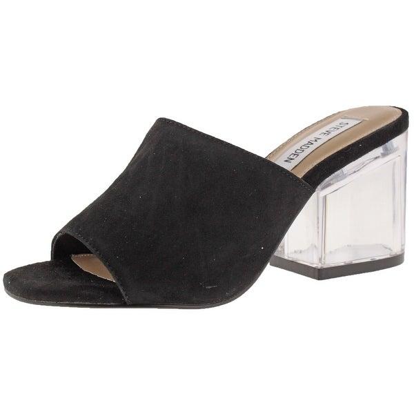 93f00c4fbcd Shop Steve Madden Dalis Women s Block-Heel Dress Sandals - Free ...