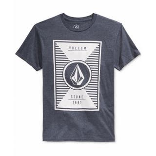 Volcom NEW Navy Blue Mens Size XL Heathered Logo Graphic Tee T-Shirt|https://ak1.ostkcdn.com/images/products/is/images/direct/f7e5e8278f7871bd9a44531eab965d8487f4c2dc/Volcom-NEW-Navy-Blue-Mens-Size-XL-Heathered-Logo-Graphic-Tee-T-Shirt.jpg?impolicy=medium