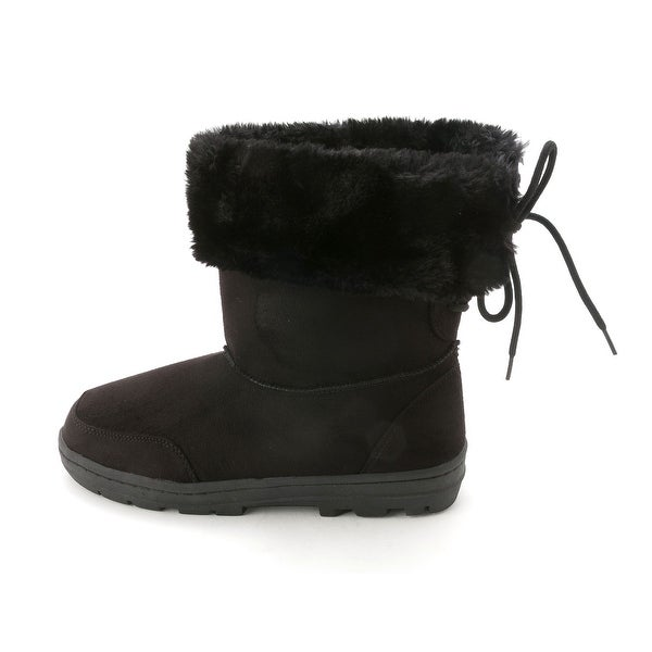 Seven Dials Womens ORIOLE Round Toe Ankle Cold Weather Boots