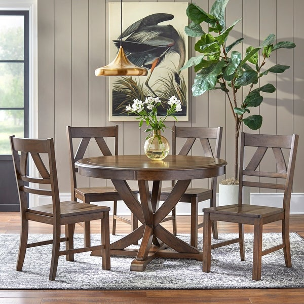 Simple Living Vintner Country Style Dining Set. Opens flyout.