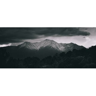 Black And White Mountain Photograph Art Print