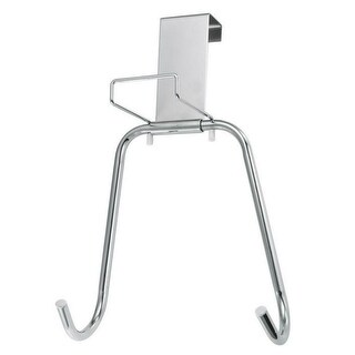 Polder 90617-05 Over The Door Ironing Board Holder, Chrome