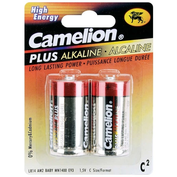 Alkaline Batteries 2/Pkg-C