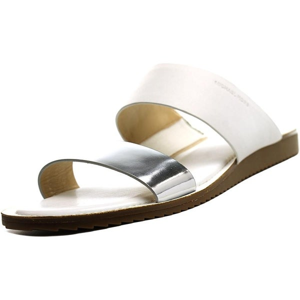 Michael Michael Kors Millie Slide Women Silv/White Sandals