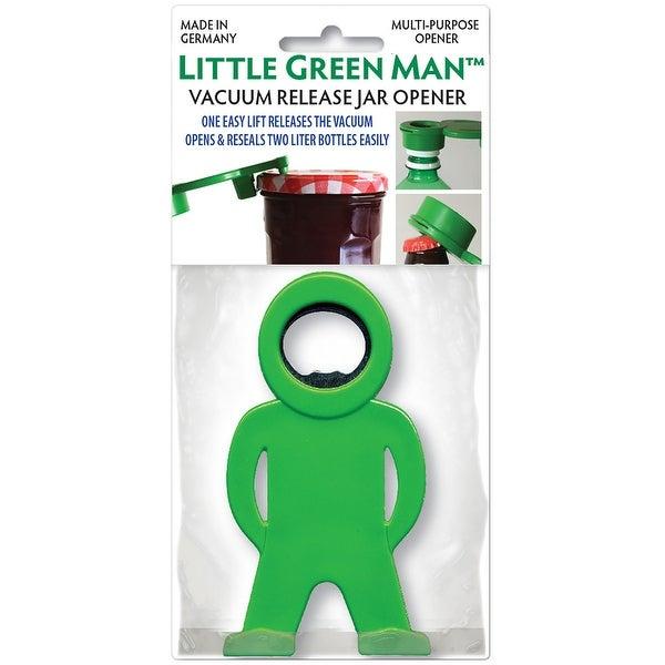 Little Green Man Multi Purpose Bottle & Jar Opener-Green