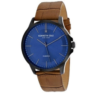 Kenneth Cole Men's Classic KC50208003 Blue Dial Watch