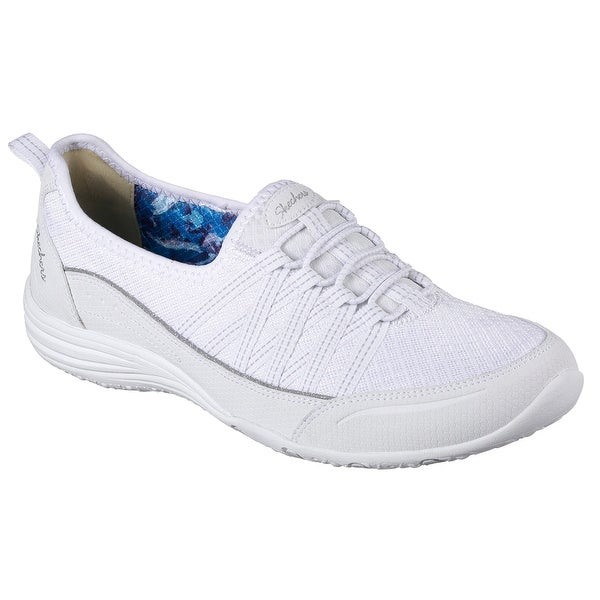 Skechers 23055 WHT Women's UNITY-GO BIG Walking