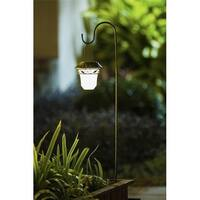 WXE0101 Set of 2 Decorative Leaves Design Hanging Solar Lights with