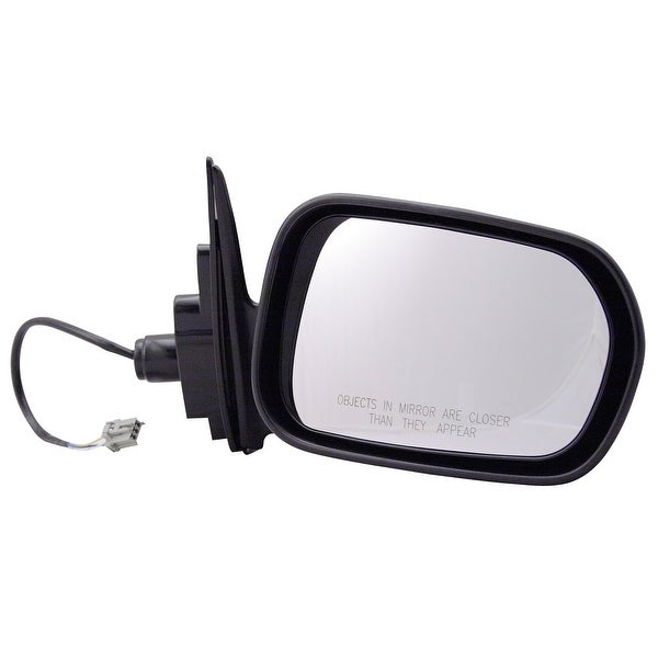 Pilot Automotive TYC 4700331 Black Passenger/ Driver Side Power Non-Heated Replacement Mirror for Honda Accord