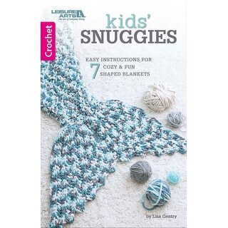 Leisure Arts-Kids' Snuggies
