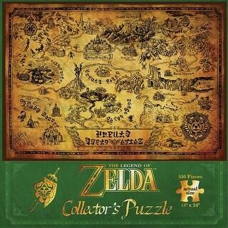 Legend Of Zelda 550 Piece Puzzle - multi