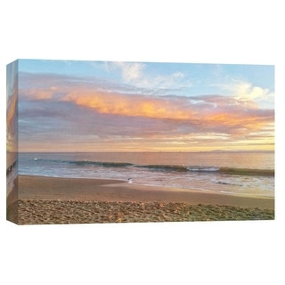 """PTM Images 9-102238  PTM Canvas Collection 8"""" x 10"""" - """"Butterfly Beach Seascape"""" Giclee Coastlines Art Print on Canvas"""
