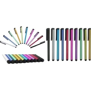 MYEPADS 9PK-STY MYEPADS 9PC Stylus Pen - Assorted - Tablet, Cell Phone Device Supported - Capacitive Touchscreen Type Supported