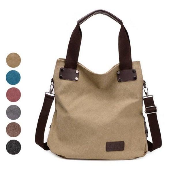 Unique Fashion High Quality Canvas Women Shoulder Bag handbags