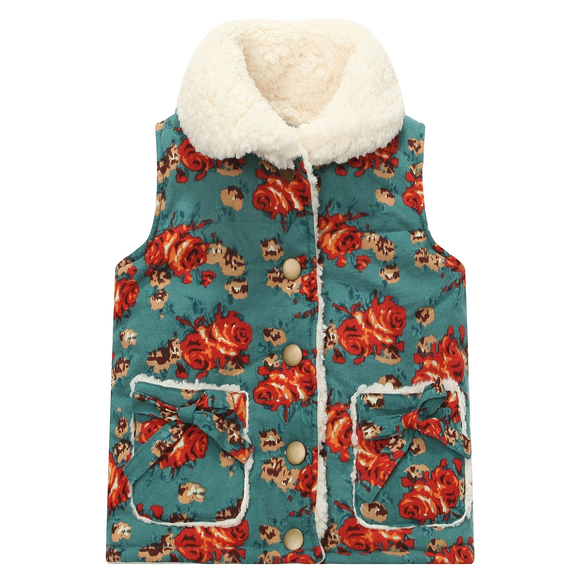 The North Face Youth Girls Fleece Lined Shepra Vest