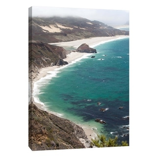 "PTM Images 9-106023  PTM Canvas Collection 10"" x 8"" - ""Big Sur 3"" Giclee Coastlines Art Print on Canvas"