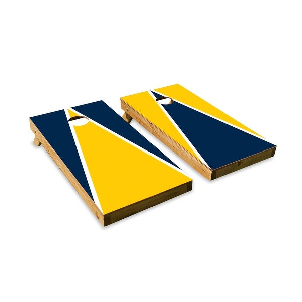 Michigan Wolverines Cornhole Board Set