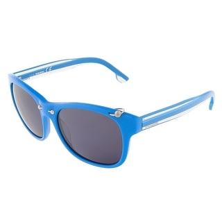 Diesel DL0048/S 87A Blue Square sunglasses