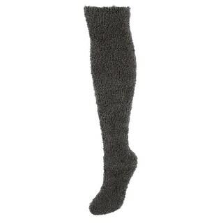 Lemon Women's Fuzzy Over the Knee Socks