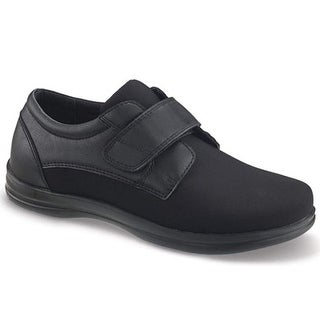 APEX Mens stretch monk Closed Toe Slip On Shoes