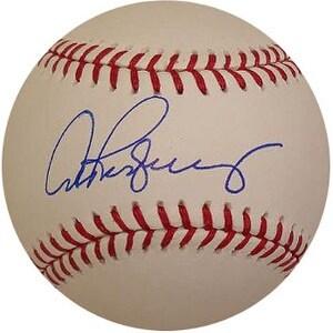 Alex Rodriguez signed Rawlings MLB Baseball MLB Hologram NY Yankees